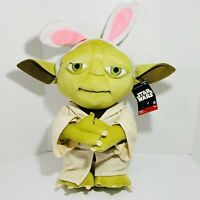 """YODA THE EASTER BUNNY Ears GREETER 27"""" Star Wars Collectible Plush W Tags"""