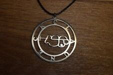 Clauneck necklace sigil goetia pendant demon satan sigil satanic circle pin