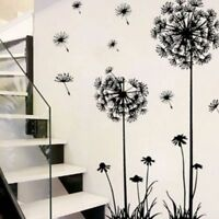Flower Dandelion Wall Art Decal Sticker Removable Mural PVC Vinyl Home Decor