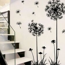 Fashion Creative Flower Dandelion Wall Art Decal Sticker Modern Removable Mural