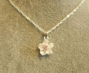 Sakura Cherry Blossom Necklace Gift Boxed