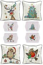 Bug Art Christmas Kooks Decorations Range ~ Cushions / Snack Trays