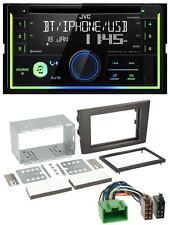 JVC MP3 Bluetooth USB CD 2DIN AUX Autoradio für Volvo XC 90 07-14 16 Pin