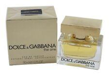 The One By Dolce & Gabbana For Women 1.0oz Eau de Parfum Spray New in Box