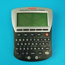 Franklin MWD-1470 Electronic Merriam Webster Dictionary & Thesaurus Tested FR/SH
