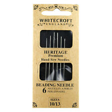 Whitecroft Heritage Beading Needles 10/13 86761
