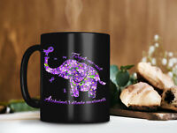 Forget Me Not Moments Memories Flower Elephant Mug Funny Coffee Cup Gift Men