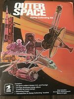 Outer Space Stamp Album kit From 1982. Complete With All Stamps.USPS