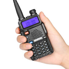 Baofeng UV-5R Walkie Talkie Headset VHF UHF Ham Portable 2-Way Radio Squelch DCS