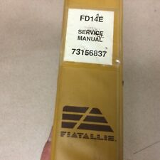 Fiat Allis Fd14e Crawler Tractor Bulldozer Service Shop Repair Manual Ts Guide