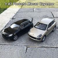 ORIGINAL 1:43 Scale Porsche Macan Cayenne Diecast Model Car New In Box