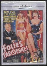 NEUF DVD FOLIES PARISIENNES1956 H. LEPAGE DORA DOLL J. TISSIER BERRI GABRIELLO
