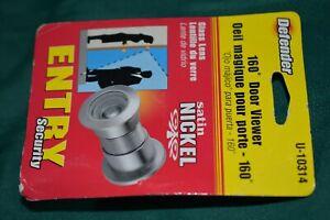 Defender Security Door Viewer Gray Peep Hole New In Sealed Package
