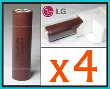 4x Genuine LG HG2 18650 Batteries 3000mah 20A IMR Flashlight Vape Mod FREE SHIPP
