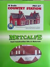 Metcalfe Kit PN137. Country Station.  N Scale.