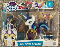 My Little Pony Guardians of Harmony Shining Armor With Accessories Hasbro New