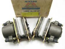 REMAN. Autoline C422728 Front Brake Caliper Set W/ Brake Pads  (LEFT + RIGHT)