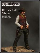 Beneito Cowboy Gunslinger 54mm Unpainted metal kit