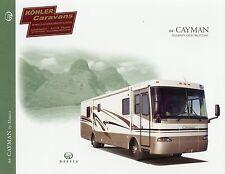 Prospekt Monaco Cayman 2004 Reisemobil Wohnmobil brochure motor home camper USA