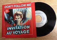 SP 45 trs BOF Invitation au voyage Gabriel Yared Nina Scott 1982 comme NEUF