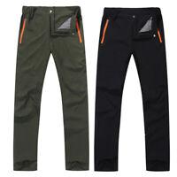 Men Outdoor Hiking Pants Breathable Waterproof Windproof Running Qucik Dry J QN