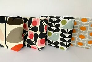 Make Up Bags / Toiletry Bags / Orla Kiely Fabric