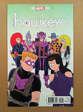 ALL-NEW HAWKEYE V.2 #2 FRED HEMBECK 1:10 VARIANT COVER LEMIRE NM 1ST PRINTING