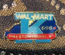 Vintage Walmart Store #696 Prestonsburg KY Lapel Pin  (#Y)