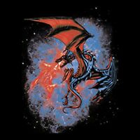 Space Dragon Pick Your Size Youth Medium to Size 6 X Large T-Shirt