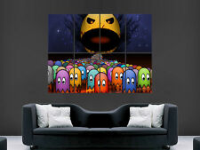 PACMAN ATARI CLASSIC COMPUTER GAME GIANT WALL POSTER ART PICTURE PRINT LARGE