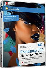 video2brain Photoshop CS6 für Fortgeschrittene, 8 Std. Video-Training DVD, NEU