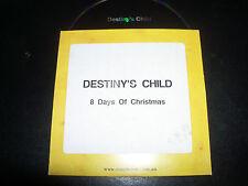 Destiny's Child / Beyonce 8 Days Of Christmas Australian Promo CD SAMP2409