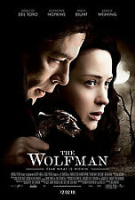 The Wolfman (2010)  Extended Cut DVD As New & Sealed Anthony Hopkins, Hugo Weavi