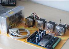 Nema23 Stepper Motor(23hs6620) 185oz-in & Driver board(TB6560) CNC Kit 4AXIS