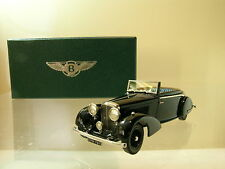 LANSDOWNE MODELS LDM81A BENTLEY 4¼LT.CONC.DROPHEAD COUPE 1936MULLINER BLACK 1:43