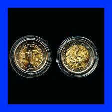 2 X 2 EURO COMMEMORATIVE ITALIE2006 TURIN ET  2011  BEL ETAT
