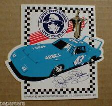 Richard Petty Museum Plymouth Superbird rare Level Cross NC sticker decal NEW