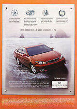 2002 Toyota Camry SE - red - Classic Vintage Advertisement Ad H03