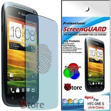4 Pellicola Opaca Per HTC One S Antiriflesso Antimpronta Proteggi Schermo LCD