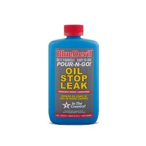 BLUE DEVIL OIL STOP LEAK 8OZ seal seeping or dripping oil leaks / rubber seals