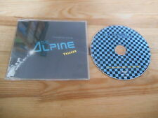 CD Pop The Alpine - Trigger (3 Song) Promo SUPERSONIC SONY sc