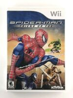 Spider-Man: Friend or Foe (Nintendo Wii, 2007) Good Condition, Complete, TESTED