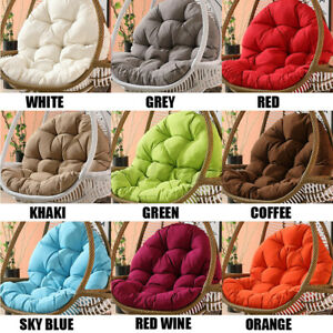 Outdoor Indoor Patio Cushion Hanging Swing Egg Chair Soft Only Cushion /Cover