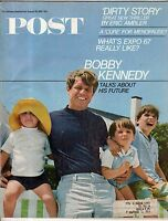 1967 Saturday Evening Post August 26 - Robert Kennedy; Fall of Japan; Menopause