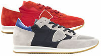 Sneakers Philippe Model uomo TROPEZ L Dmondial scarpa Made in Italy  TRLUW