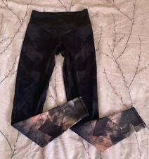 H&M Womens Leggings - Small - Black - Activewear Running - Sport