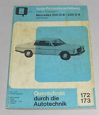 Reparaturanleitung Mercedes /8 W115 200 D + 220 D Diesel, Bj. 1968-1975 original
