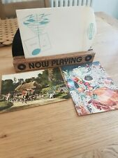More details for rare fonoscope record greeting postcards holly + the ivy & purple people eater