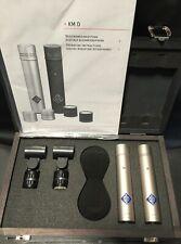 Neumann KM 183 D NX AES 42 Digital Mikrophon Studio Stereo Set Paar Kugel