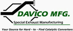 Exhaust Tail Pipe-Exact-Fit Exhaust Pipe Davico 675092